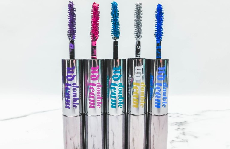 Urban Decay Double Team Special Effect Colored Mascara Review stylishbrunette.com
