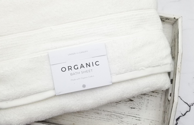Under The Canopy Organic Cotton Bath Sheet madisonloveday.com