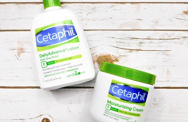 Cetaphil Moisturizing Cream and Daily Advance Lotion madisonloveday.com
