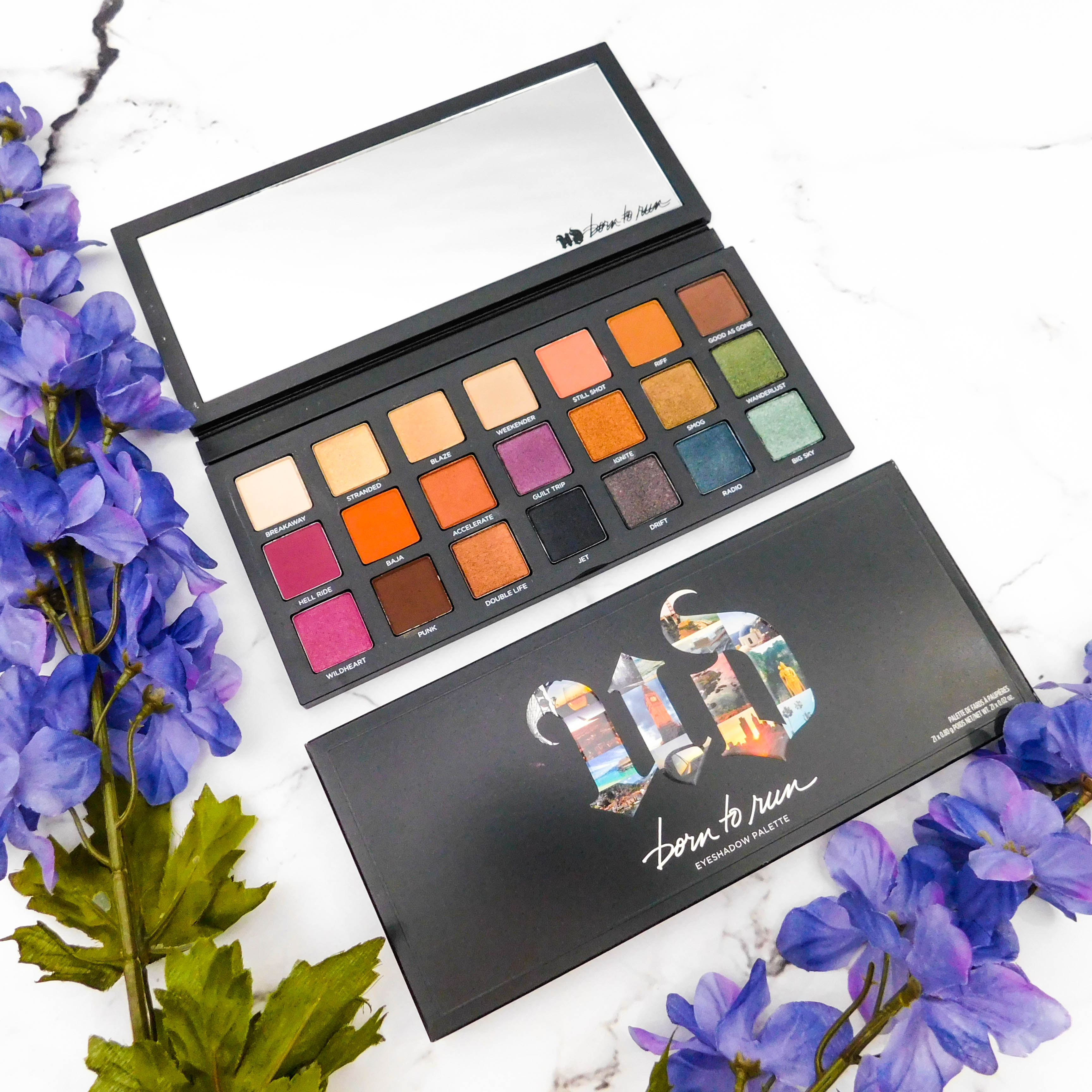 Urban Decay Born To Run Eyeshadow Palette madisonloveday.com