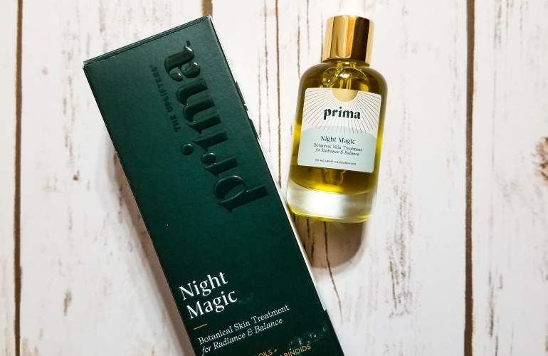 Prima Night Magic CBD Facial Oil madisonloveday.com