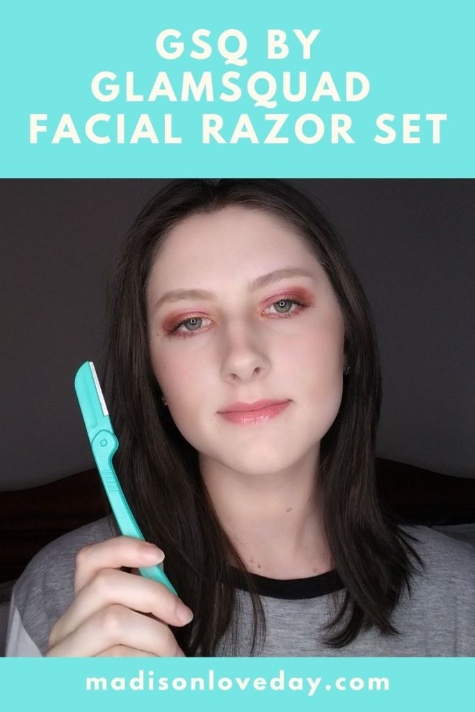 GSQ by GLAMSQUAD Facial Razor Set madisonloveday.com